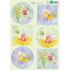 HK1706 Arkusz A4 -Marianne Design - Hetty\'s Fairies