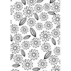 HSF008 Folder do embossingu Flowers & Leaves