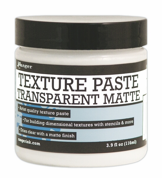 INK44727 Texture paste - Transparent Matte - Ranger 116ml