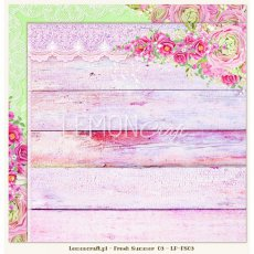 LP-FS03 Dwustronny papier do scrapbookingu - Fresh Summer 03