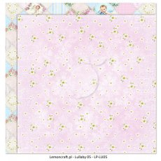 LP-LU05 Dwustronny papier do scrapbookingu - Lullaby 05 30x30cm