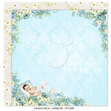 LP-LU06 Dwustronny papier do scrapbookingu - Lullaby 06 30x30cm