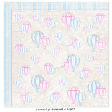 LP-LU07 Dwustronny papier do scrapbookingu - Lullaby 07 30x30cm