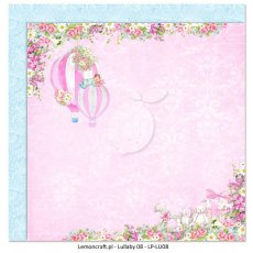 LP-LU08 Dwustronny papier do scrapbookingu - Lullaby 08 30x30cm
