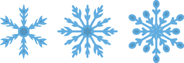 Znalezione obrazy dla zapytania sniezynki
