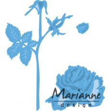 LR0451 Wykrojnik Marianne Design - Tiny\'s Rose