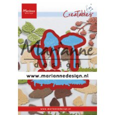 LR0623 Wykrojnik - Marianne Design - Tiny\'s Mushrooms