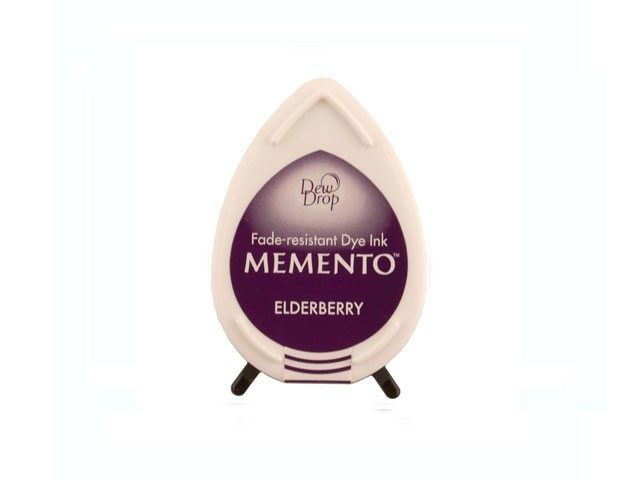 MD-507 Elderberry Tusze Memento Dew Drop