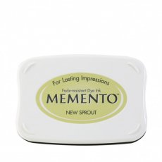 ME-704 Tusz wodny  Memento- ink pad- new sprout