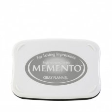 ME-902 Tusz wodny  Memento- ink pad-gray flannel