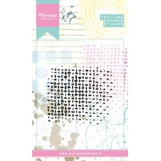 MM1603 Stempel akrylowy texture -Netting