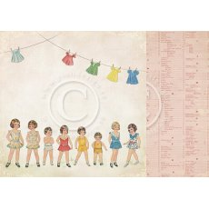 PD3202 Papier dwustronny- Play time - girls
