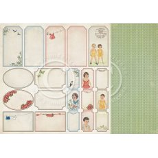 PD3212 Papier dwustronny- Play time - tags