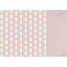 PD8207 Papier dwustronny 30,5x30,5cm-Where the Roses Grow-Rose linen