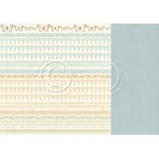 PD8410 Papier dwustronny 30,5x30,5cm-The Songbird\'s Secret-Borders