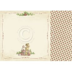 PD9801 Papier dwustronny 30,5x30,5cm-Christmas Wishes-Good tidings