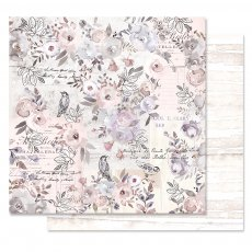 PM848958 Papier dwustronny metaliczny 30,5x30,5cm - Lavender Frost - Finding The Way