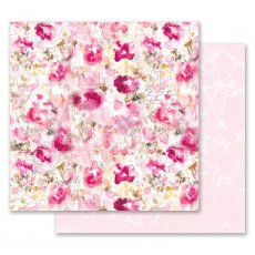 PM849283 Papier dwustronny metaliczny 30,5x30,5cm - Misty Rose - Scattered Dreams