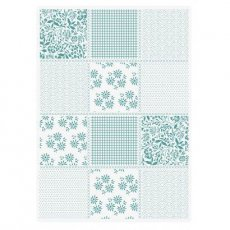 S-SL-EF5-PPAT Folder do embossingu Sew Lovely- Pretty Patchwork