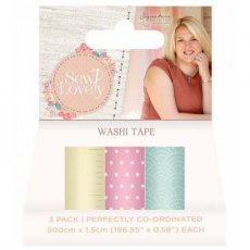 S-SL-WASHI Tasiemki washi tape Sew Lovely 3szt.