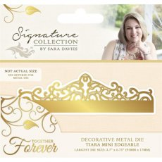 S-TF-MD-TIARA  Wykrojniki  Sara Signature Together Forever -Tiara Mini Edgeable