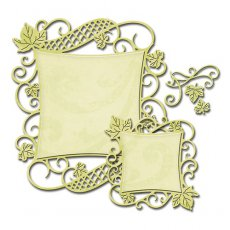S4-525 Wykrojniki Spellbinders-Decorative Curved Square