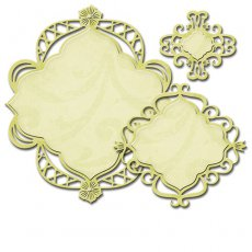 S4-527 Wykrojniki Spellbinders-Decorative Fancy Diamond