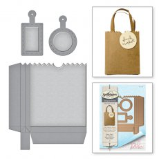 S4-728 Wykrojniki Spellbinders-SHAPEABILITIES BAG N TAG IT -torebka
