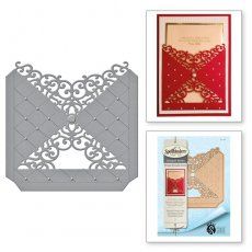 S5-296 Wykrojnik Spellbinders - Diamond Flourish Pocket
