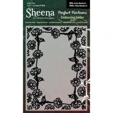 SD-PPEF-DAISY Daisy Chain Border Folder do embossingu - Sheena by Sheena Douglas