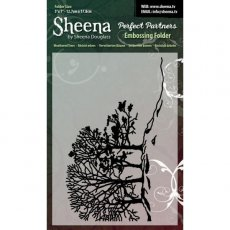 SD-PPEF-WEA Weathered Trees  Folder do embossingu - Sheena by Sheena Douglas