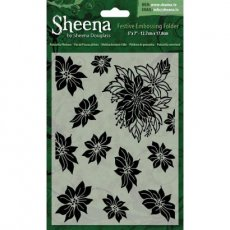 SD-XEF-POIN Folder do embossingu - Sheena Douglass -Poinsettia Plethora