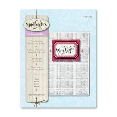 SES-003 Folder do embossingu - Grid