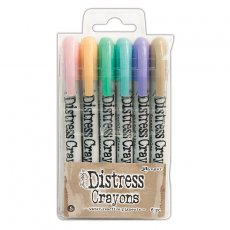 TDBK51756 Kredki Distress Crayons - Ranger Ink - Set#5
