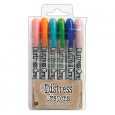 TDBK51763 Kredki Distress Crayons - Ranger Ink - Set#6