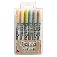 TDBK51787 Kredki Distress Crayons - Ranger Ink - Set#8