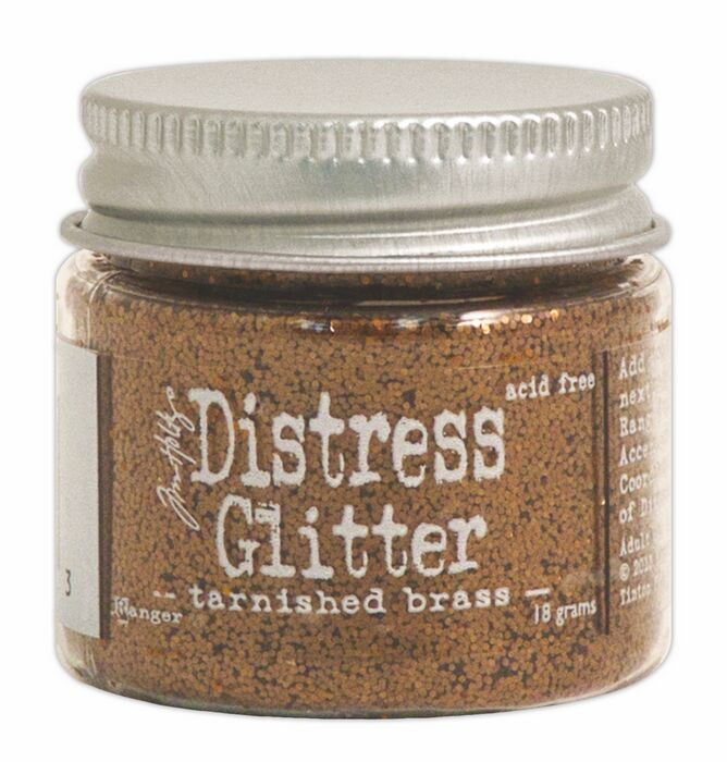 TDG39303 Brokat sypki- Distress Glitter -Tarnished Brass