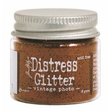 TDG39341 Brokat sypki- Distress Glitter -Vintage Photo