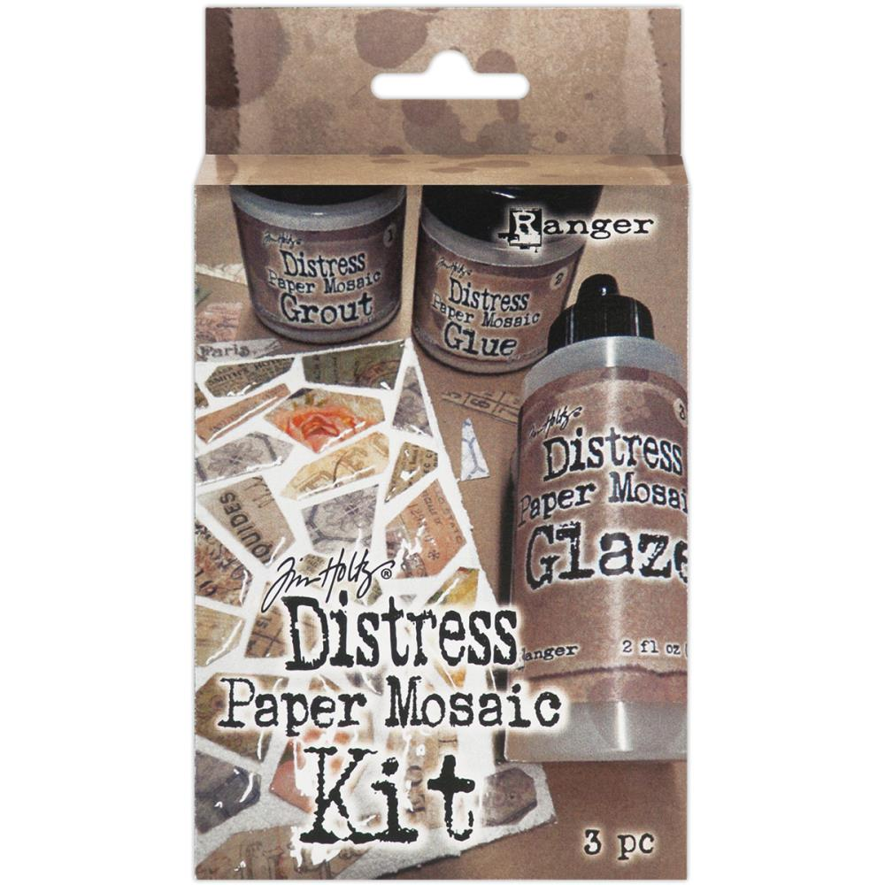 TDK47858  Distress Paper Mosaic Kit - Ranger zestaw do mozaik