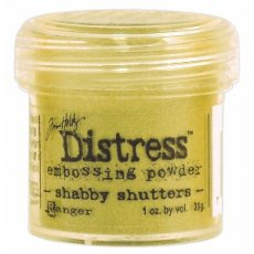 TIM22930 Puder do embossingu Ranger Distress-shabby shutters