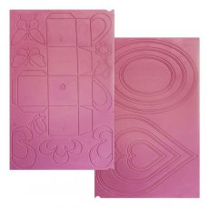 ULTIBOX Ulti-Boxes Embossing Board - dwustronna tablica - pudełka