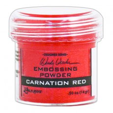 WEP48022 Puder do embossingu Carnation Red Ranger
