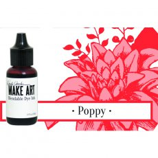 WVR62745 UZUPEŁNIACZ- Tusz Wendy Vecchi MAKE ART Bleandable Dye Ink-  Poppy