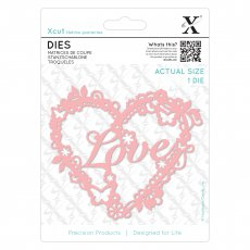 XCU503382 Wykrojnik X-cut -Love Heart