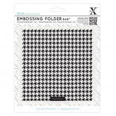XCU515168 Folder do embossingu 15x15-Dogtooth Patern