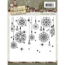 YCEMB10008 Folder do embossingu Yvonne Creations -Celebrating Christmas