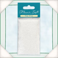 035009 Kwiatki Flower Soft - Polar White