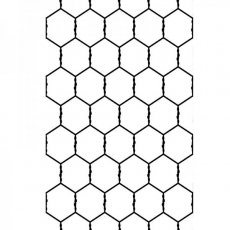 1219-105 Embossing Folders - Chicken Wire