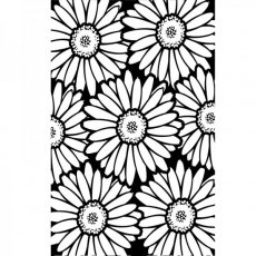 1219-108 Embossing Folder - Bold Daisy
