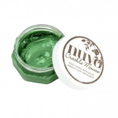 1395N Mus Nuvo Crackle Mousse-Chameleon Green